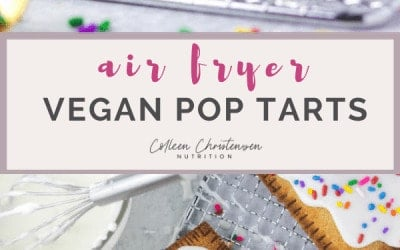 air fryer vegan pop tarts