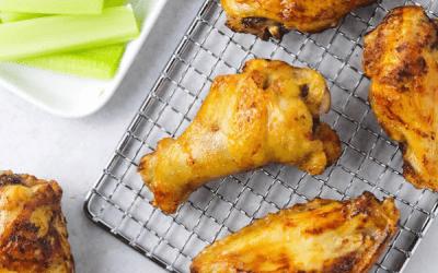 Air Fryer Frozen Chicken Wings 4 Sauces Colleen Christensen