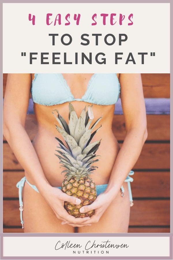 stop feeling fat