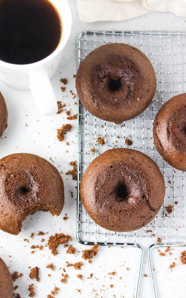 chocolate protein donuts