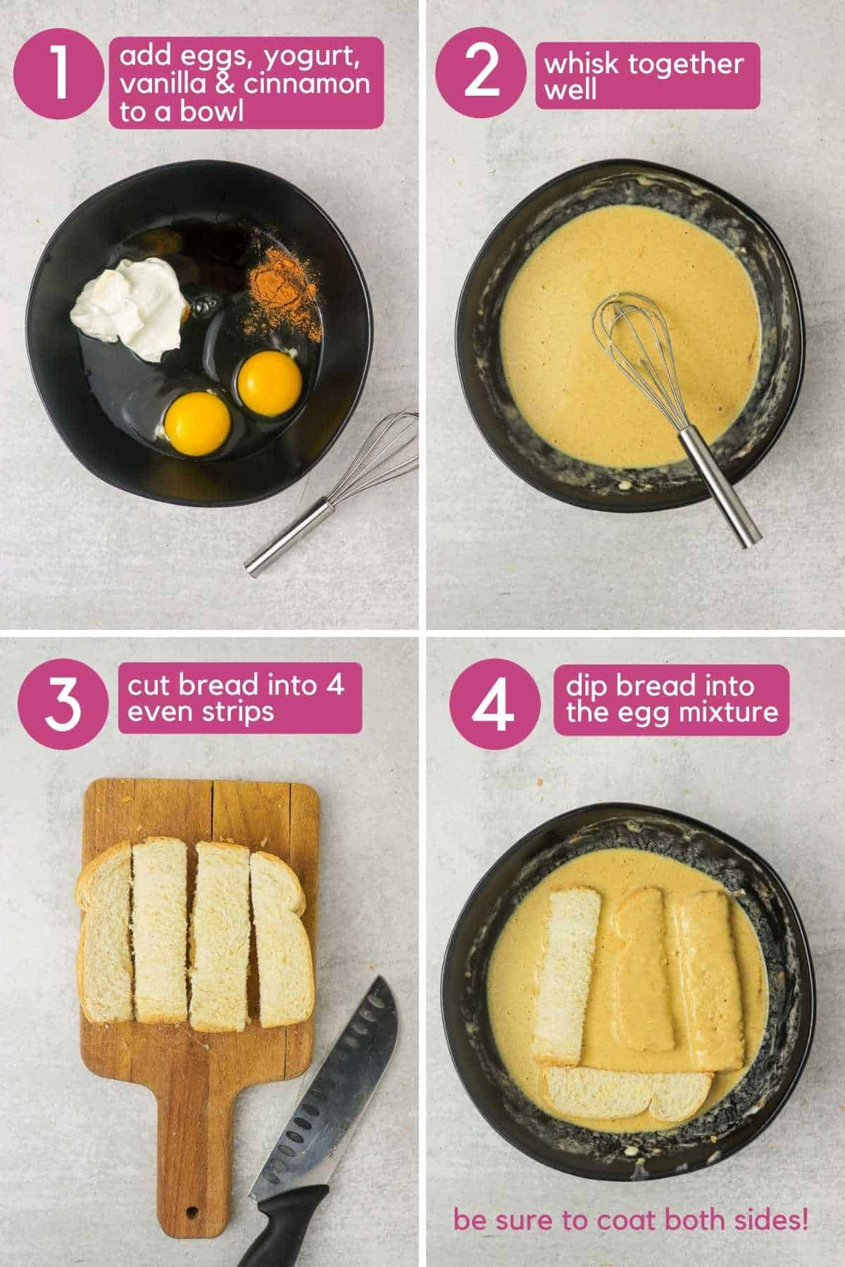 How To Make Air Fryer French Toast Sticks