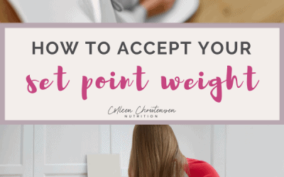 What If I Don't Like My Set Point Weight?