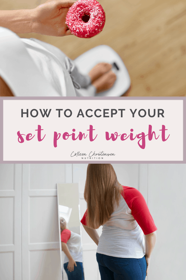 accept your set point weight