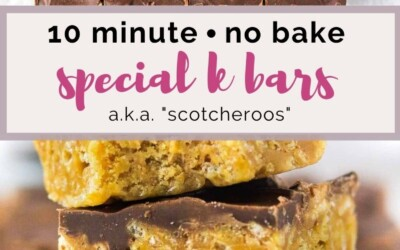 10 minute special K bars