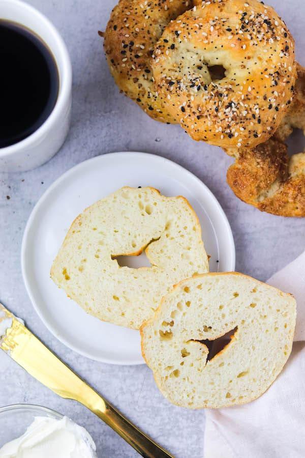 3 ingredient bagels