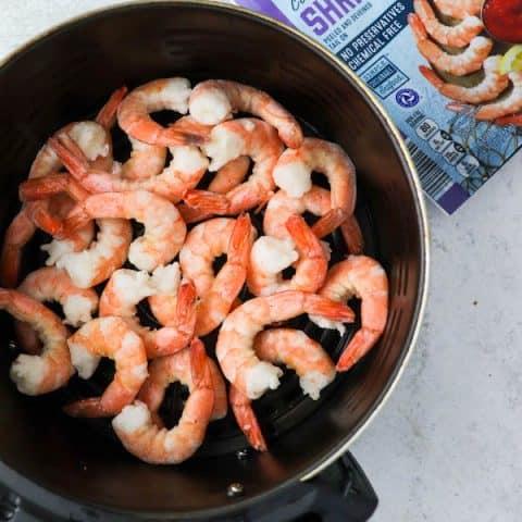 cooked air fryer frozen shrimp