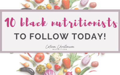 black nutritionist accounts