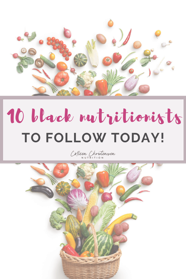 black nutritionist accounts
