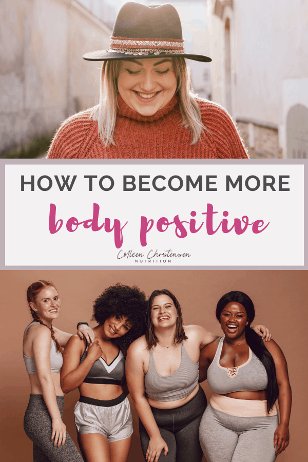 end negative body image