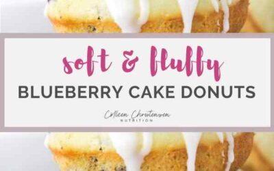best ever blueberry cake donut recipe