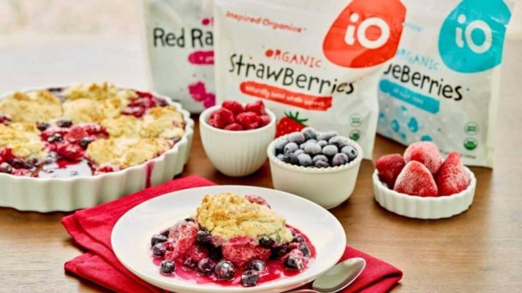 Inspired organics frozen berries