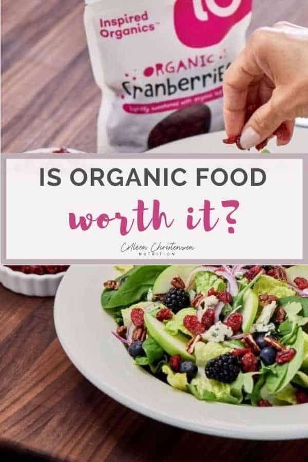 is organic food worth it? Organic VS Non organic food
