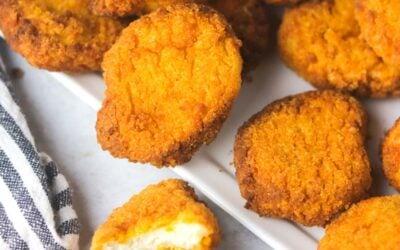 Crispy Air Fryer Frozen Chicken Nuggets