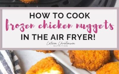 air fryer frozen chicken nuggets