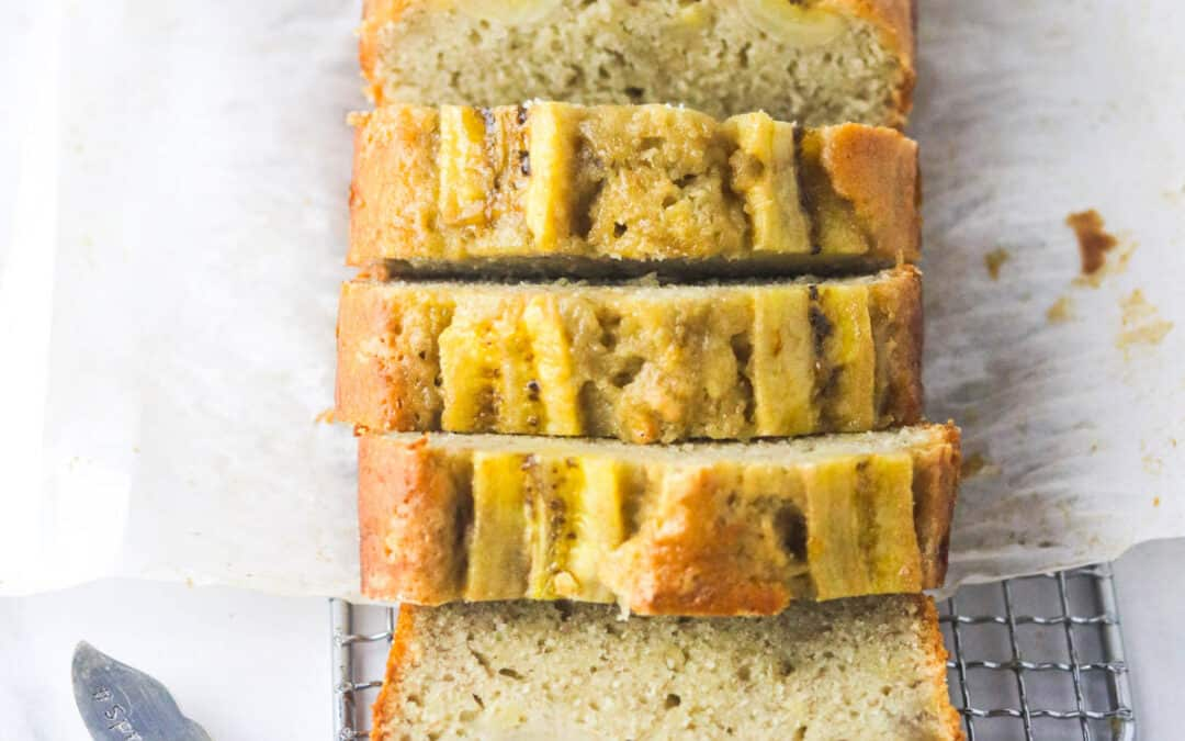 The Best Dairy Free Banana Bread