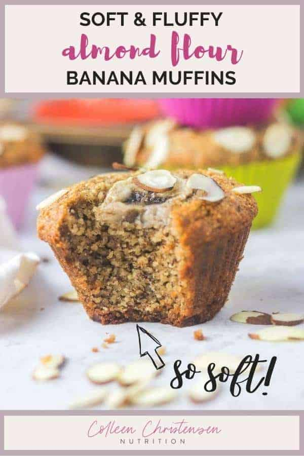 Unbelievable Almond Flour Banana Muffins Colleen Christensen Nutrition