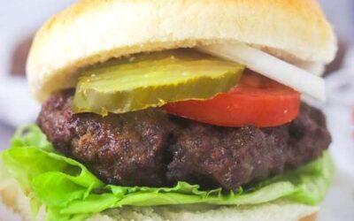 juicy air fryer burger patties