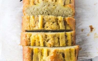 best dairy free banana bread.