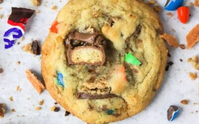 chewy candy cookies