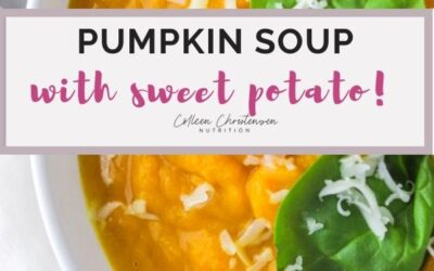 easy pumpkin and sweet potato soup