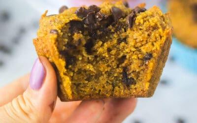 Simple & Quick Gluten Free Pumpkin Muffins