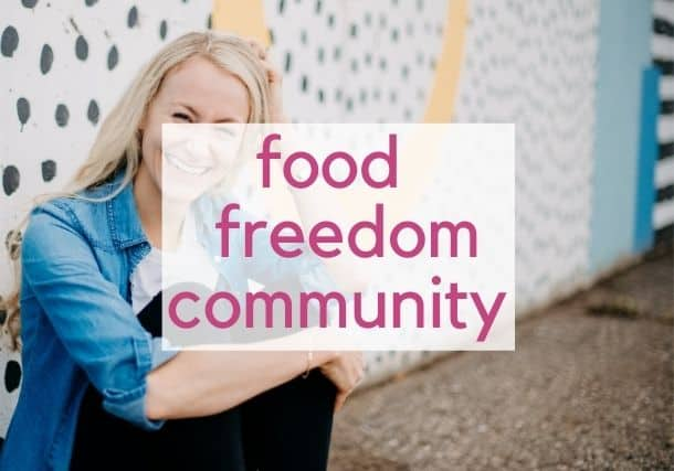 food freedom community.