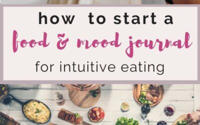 how to start a food and mood journal