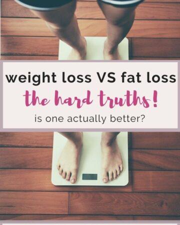 fat loss vs weight loss truths