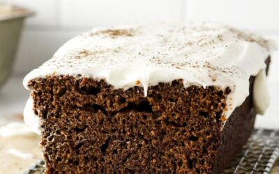 perfectly spiced ginger loaf cake