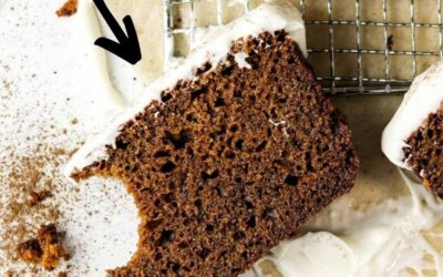 super easy gingerbread cake