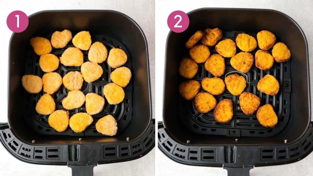 How to cook air fryer frozen chicken nuggets
