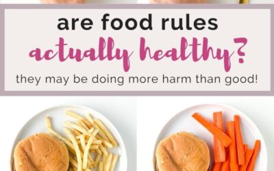are food rules actually healthy?