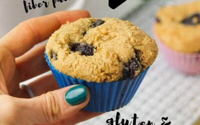 blueberry muffins gluten and dairy free.
