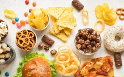 "Variety of ""unhealthy"" foods for how to identify food rules."