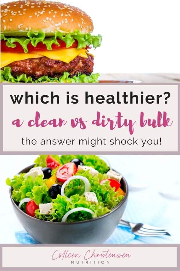 Which is healthier clean bulking VS dirty bulking?