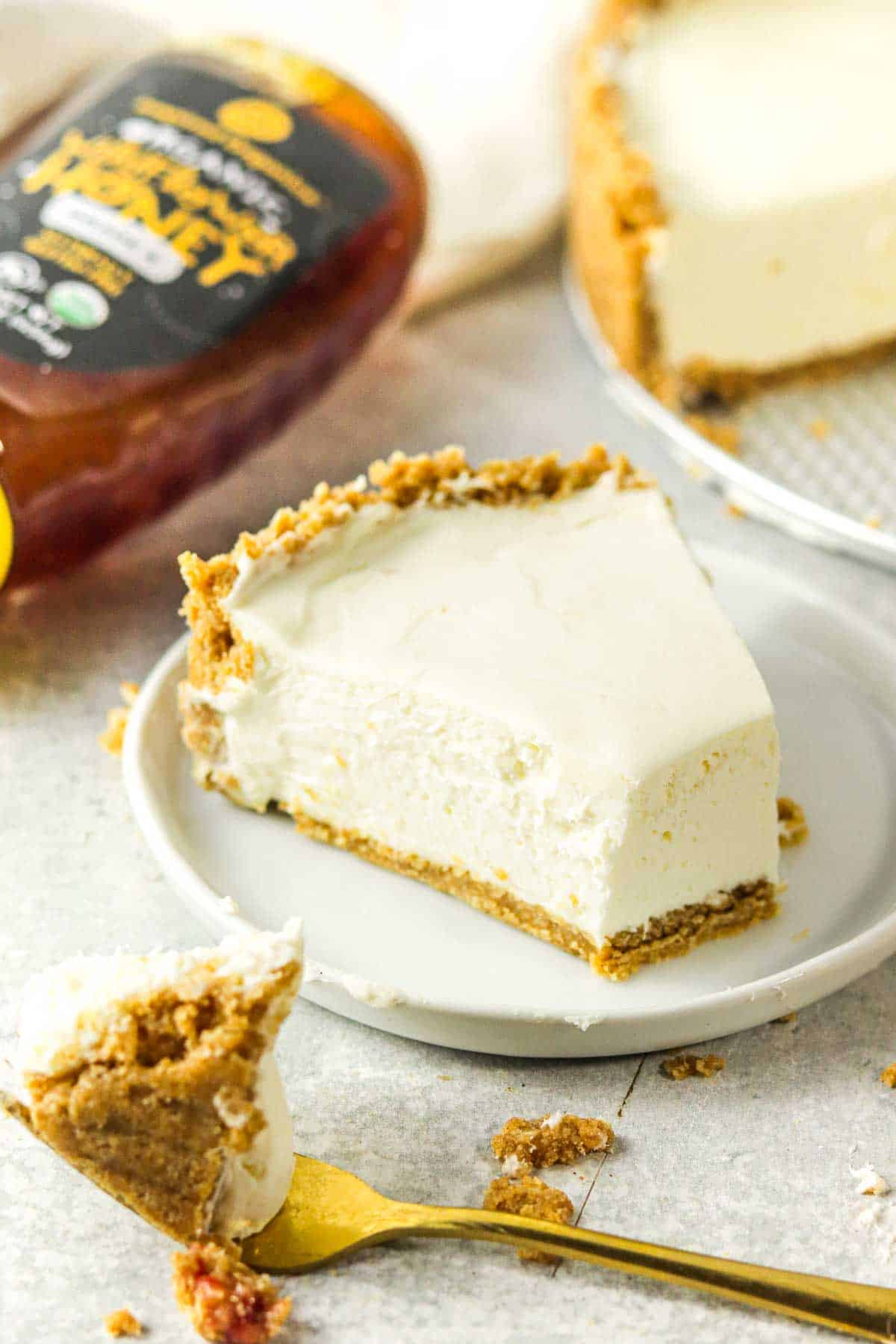 eggless cheesecake without topping