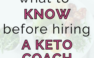 what to know before hiring a keto coach
