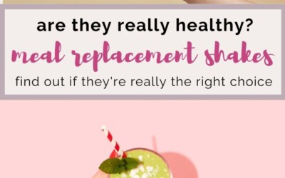 Are meal replacement shakes really healthy?