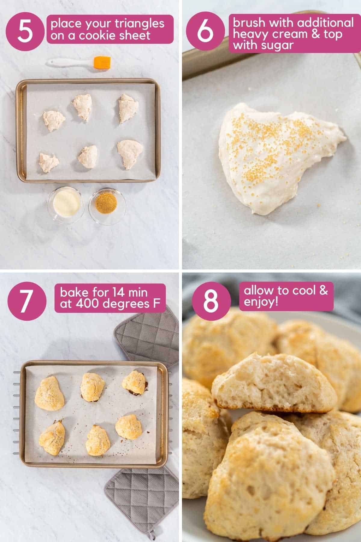 How to bake 3 ingredient scone.
