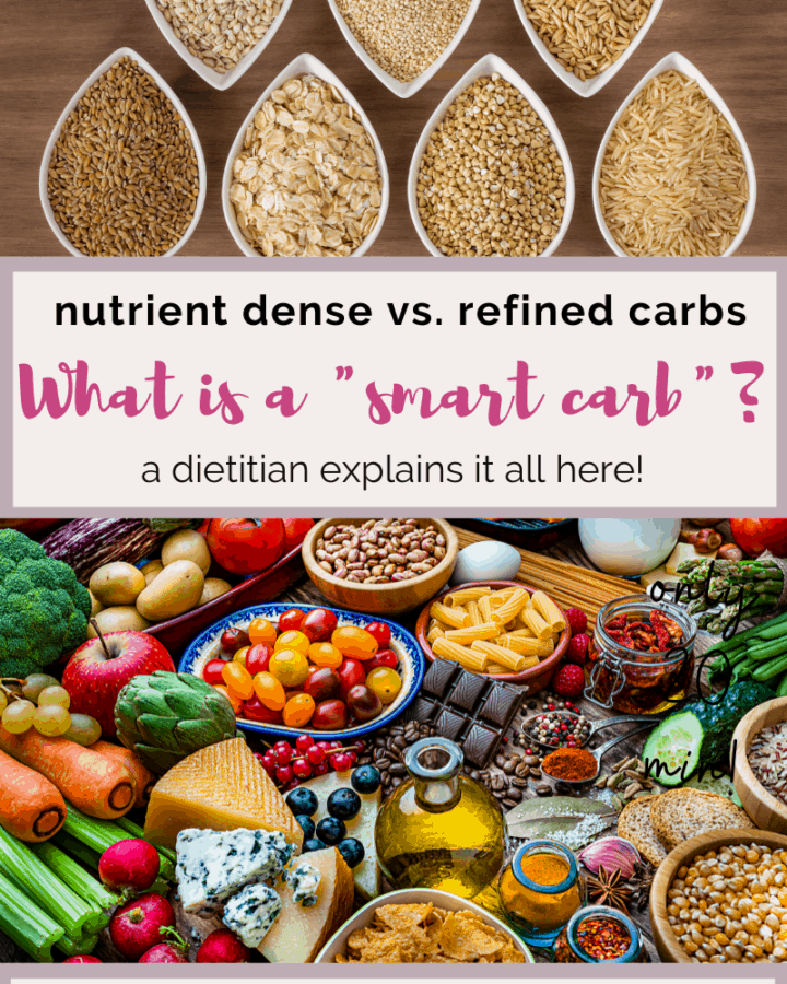 nutrient dense vs refined carbs.