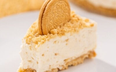 no bake recipe for golden oreo cheesecake.