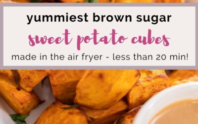 yummiest brown sugar sweet potato cubes.
