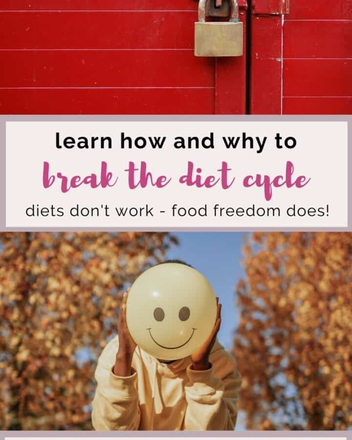 learn how and why to break the diet cycle.