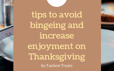 4 Tips To Reduce Bingeing And Increase Enjoyment On Thanksgiving